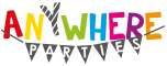Anywhere Parties Mobile Logo