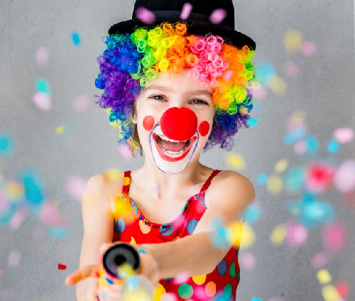 Anywhere Parties, Children's entertainers clown fun