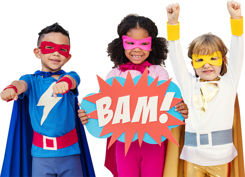 Anywhere Parties, Children's Entertainers - Super Hero Party